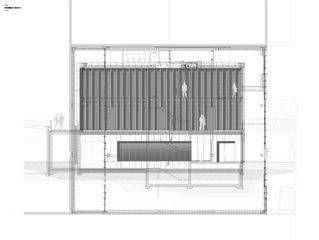 Coupe DTN von Guenin atelier d'architectures
