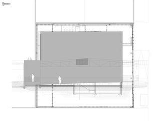 Elévation Nord DTN von Guenin atelier d'architectures