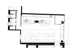 Plan EG Nine - Bar '0815' von gus wüstemann architects