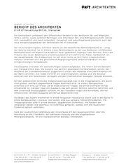 Beschrieb Verwaltung Bhf zb, Stansstad von Unit Architekten AG