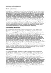 Description Arsenal d'Herisau Umnutzung und Erweiterung Zeughaus de Gäumann Lüdi von der Ropp Architekten SIA