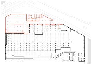 Untergeschoss Erweiterung Tramdepot Oerlikon, Zürich de Maier Hess Architekten