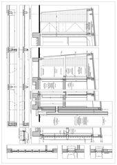 Detail Konstruktion Centre forestier à Noiraigue, commune de Val-de-Travers pour l'Etat de Neuchâtel von Architecte HES dipl.<br/>