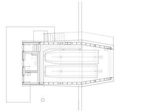 Grundriss EG Bootshaus Oberrieden von gimmivogt architekten eth sia gmbh
