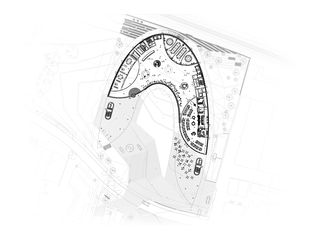EG genordet M 1:500 Daniel Swarovski Corporation Zürich von ingenhoven architects international