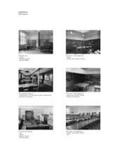 Referenzen zur gestaltung des Innenraumes und Möblierung, A2 Neues D-ARCH im ETH Hauptgebäude von