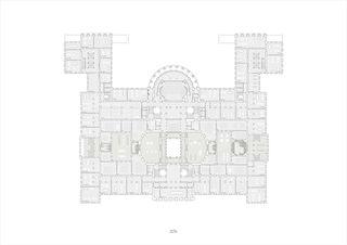 Grundriss, 1OG, 1:200, A0 Neues D-ARCH im ETH Hauptgebäude von