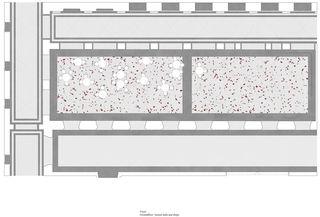 Grundriss Foyer, EG, 1:50, A1 Neues D-ARCH im ETH Hauptgebäude von
